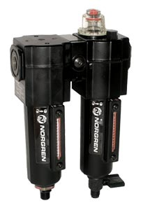 Norgren Excelon® Filter-Lubricator Combination Units for Compressed Air Systems | C72C Series