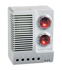 Combinato termostato ed igrostato. | serie ETF012