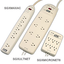 Surge Suppressors - Plug-In Surge Strips For Industrial and Commercial Applications | SGX Series