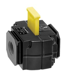 Lockout Safety Valves for Compressed Air   T72T Series Lockout Safety Valves