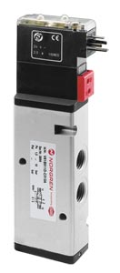 Pneumatic Directional Control Valves air or solenoid operated. | V60 Series In-Line Pneumatic Directional Control Valves