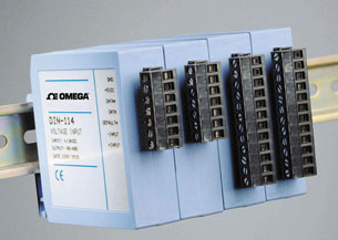 Din Rail Mount Digital Transmitters   DIN-100 OMEGABUS®