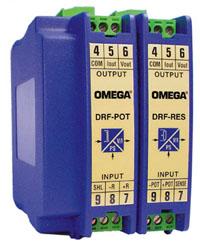DRF-RES_POT Condizionatori di segnale configurabili, con montaggio su guida DIN. | Serie DRF