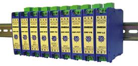 condizionatori di segnale confi gurabili, con montaggio su guida DIN | Serie DRF