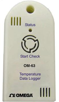 Registratore portatile a basso costo per dati di temperatura.   OM-63