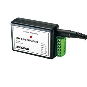 registratore per ponti/misuratori di deformazione. | OM-CP-BRIDGE120