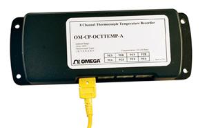 Registratori di temperatura a 8 canali | OM-CP-OCTTEMP-A