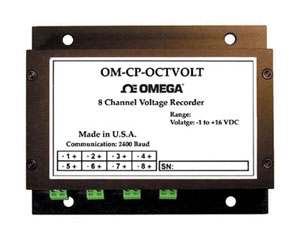 8 Channel Voltage Data Logger | OM-CP-OCTVOLT