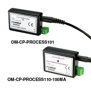 Process Current Data Loggers (+/- 100mA)  | OM-CP-PROCESS101 and OM-CP-PROCESS110