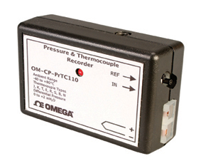 Differential Pressure and Thermocouple Data Logger | OM-CP-PRTC110
