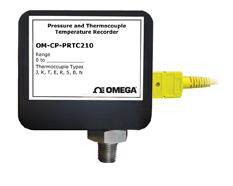 Thermocouple Temperature and Pressure Data Logger   OM-CP-PRTC210 Series