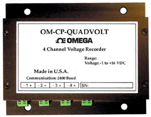 4 Channel Voltage Data Logger   OM-CP-QUADVOLT