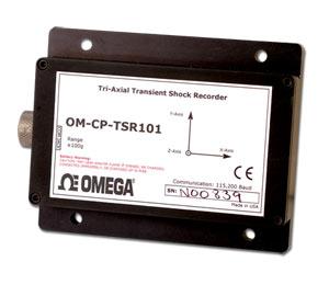 Tri-Axial Transient Shock Data Logger | OM-CP-TSR101-50