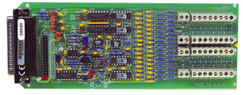 16-Channel Differential Input Voltage Card for use with OMB-LOGBOOK and OMB-DAQBOARD-2000 Series | OMB-DBK80