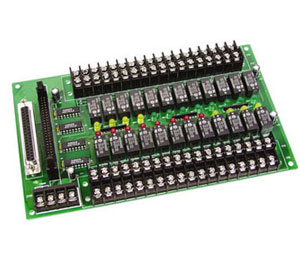 24-Channel Relay Output Board | OME-DB-24R and OME-DB-24RD