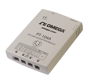 Modulo d'acquisizione dati con interfaccia USB o Ethernet con ingressi RTD a quattro canali. | PT-104A