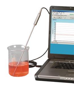 Sonda con termocoppia a giunto di transizione. | Serie TJ-USB