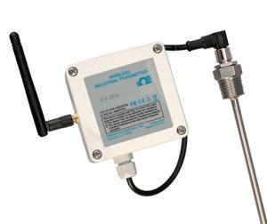 Trasmettitori di  temperatura wireless per RTD Pt100 a prova di agenti atmosferici. | UWRTD-2-NEMA