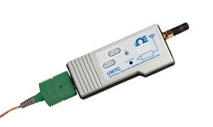 Sistema connettore/convertitore da temperatura a wireless. | Serie UWTC