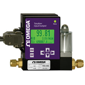 PROGRAMMABLE INTERFACE DISPLAY FOR RATE, TOTAL AND CONTROL COMMANDS   FMI-100 Series
