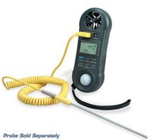 Anemometro, igrometro, misuratore di luce e termometro tutto in un unico dispositivo. | HHF81