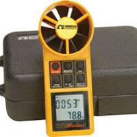 Misuratori digitali portatili di flusso d'aria/temperatura. | HHF92A