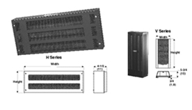Wall Mounted Convection Heaters, wall heater   H & V Series