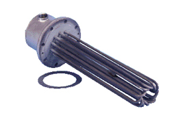 Severe Corrosive Solution Flanged Immersion Heaters | TMI Series
