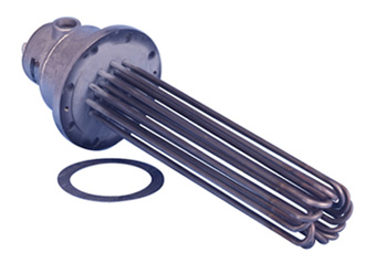 Flanged Immersion Heaters for Mild Corrosive Solutions | TMS Series