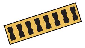 Estensimetri: filo a resistenza, placche terminale concatenabili (Boundable Terminal Pads), resistori di completamento ponte. | Serie BTP-1, RES-120, SGB-36