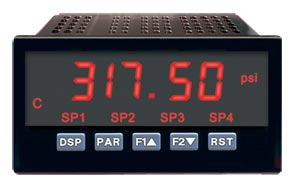 Digital Process or Strain Gage Panel Meters with Built in Excitation | DP63800-E, DP63900-S