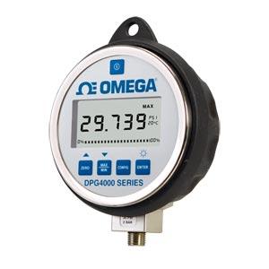 Manometro digitale di eleva precisione con display grande e funzione di registrazione dati. | Serie DPG4000