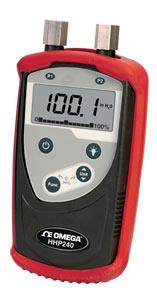 Manometro digitale portatile per la pressione differenziale, relativa ed assoluta. | Serie HHP240