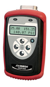 manometro portatile intelligenteper pressione differenziale, misurata e assoluta e per modelli assoluti: liquidi. | Serie HHP350