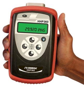 Barometro digitale di alta  accuratezza, manometro assoluto di precisione. | HHP360