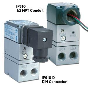 Trasduttori I/P mini e regolatori elettronici della pressione dell&#39aria. | Serie IP610