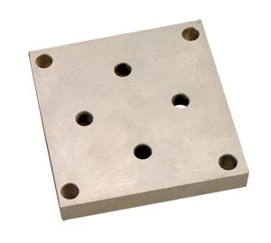Mounting Plates for LC1001/LC1011 Series Load Cells, Alloy Steel or 17-4 PH Stainless Steel | LC1001-BP