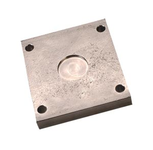 Mounting Plates for LC1001/LC1011 Series Load Cells, Nickel Plated Steel or 17-4 pH Stainless Steel | LC1000-TP