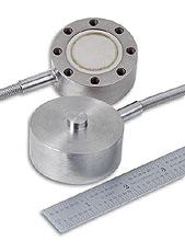Cella di carico mini a compressione in acciaio inox con fori posteriori di montaggio. | Serie LC305/LC315LCM305/LCM315
