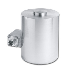 Canister Style Compression Load Cells, Heavy Duty Design, Metric, 0-250 to 0-10,000 kgF | LCM1001 and LCM1011 Series