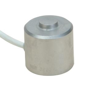 cella di carico a bottone per compressione, 0-200 a 0-50,000 Newtons diametro 25 mm,  acciaio inossidabile. | Serie LCM304