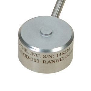 Compression Load Cell button style | LCMGD Series