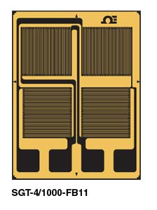 Full-Bridge for Bending or Axial Tension strain gauge | SGT FB Series