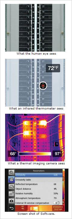 Cosa vede una termocamera