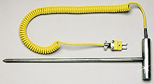 Rugged Penetration Thermocouple Probes with Extra Heavy Wall &