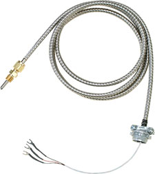 Extruder Thin Film RTD Probes with Compression Fittings | CFTF Series