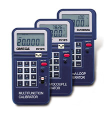 Calibratori di temperatura portatili e per segnali di processo | Serie CL100