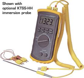 Calibratore digitale portatile con termometro tipo J/K/T/E. | CL3512A