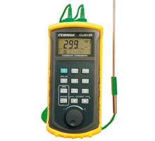 Simulatore di termocoppia / Termometro portatile con USB e RS232 | CL3515R