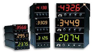 Regolatori / Dispositivi di controllo  PID di deformazione, di processo e  di temperatura a ⅛ DIN. | Serie CNi8